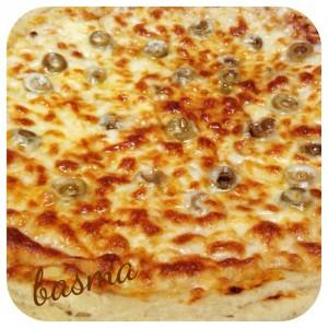 البيتزا بالشوفان
